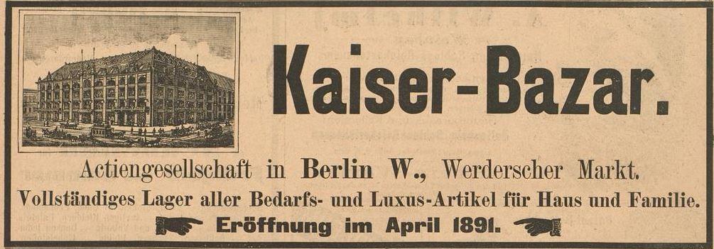 082_Der Bazar_37_1891_p152_Warenhaus_Kaiser-Bazar_Verkaufsstätte