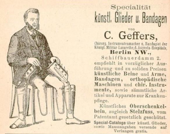 085_Katalog_1882_Annoncen_p216_Medizinaltechnik_Prothesen_C-Geffers_Invalide