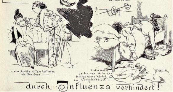092_Kladderadatsch_045_1892_Nr03_p05_Infektionskrankheiten_Influenza_Studenten_Alltagssexualität