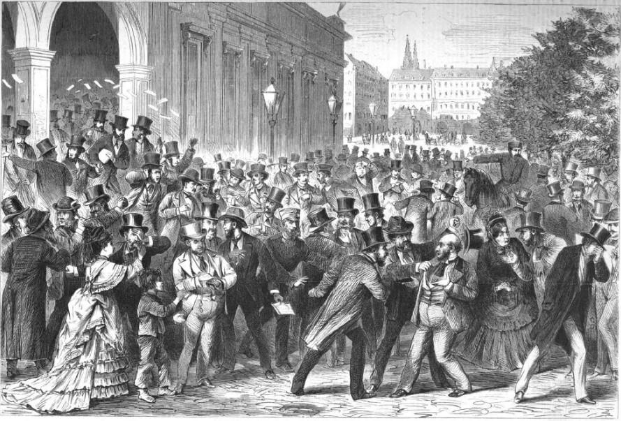 097_Illustrirte Zeitung_060_1873_p472_Wirtschaftskrisen_Gründerkrach_Börse_Wien_Börsenkrach