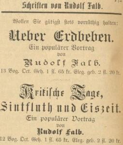 102_Oesterreichisch-ungarische Buchhaendler-Correspondenz_36_1896_p116_Bücher_Sachbücher_Erdbeben_Rudolf-Falb_Wetterprognose