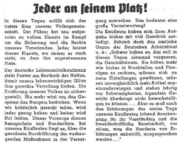 6_Deutsche Handels-Rundschau_32_1939_Nr36_p01_Einzelhandel_Kriegsbeginn_Edeka_Einzelhaendler