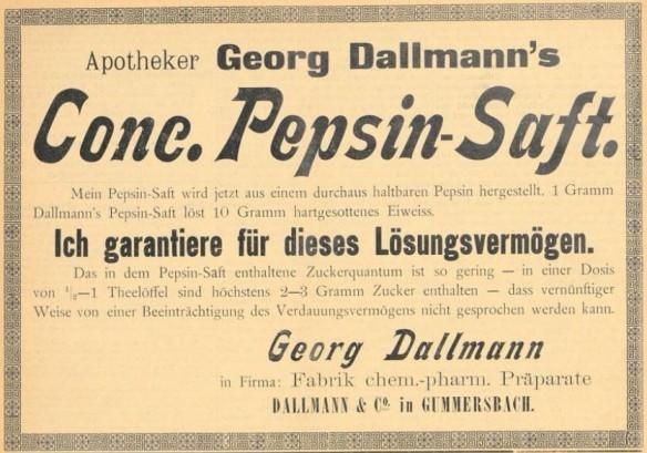 04_Süddeutsche Apotheker-Zeitung_34_1894_p48_Pepsinsaft_Dallmann_Gummersbach