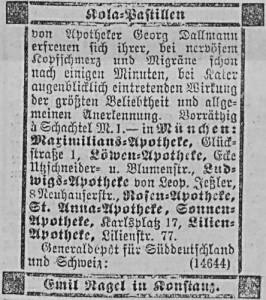 10_Allgemeine Zeitung_1888_12_02_Nr335_p4944_Kola-Pastillen_Dallmann