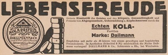 25_Fliegende Blätter_133_1910_Nr3414_Beibl_Kola-Dallmann_Lebensfreude