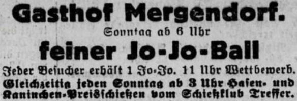 17_Riesaer Tageblatt und Anzeiger_1932_11_26_Nr277_p08_Jo-Jo_Ball_Geselligkeit