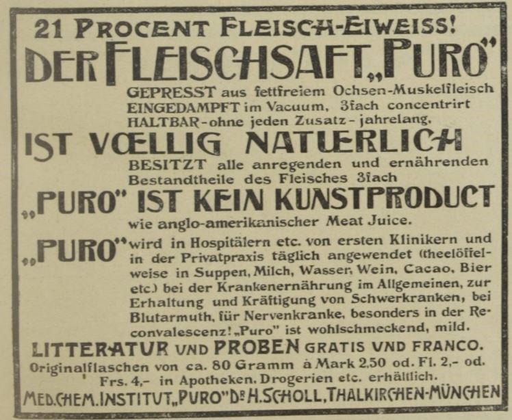 06_Wiener klinische Rundschau_11_1897_p837_Kraeftigungsmittel_Fleischsaft-Puro_Natur-Kultur