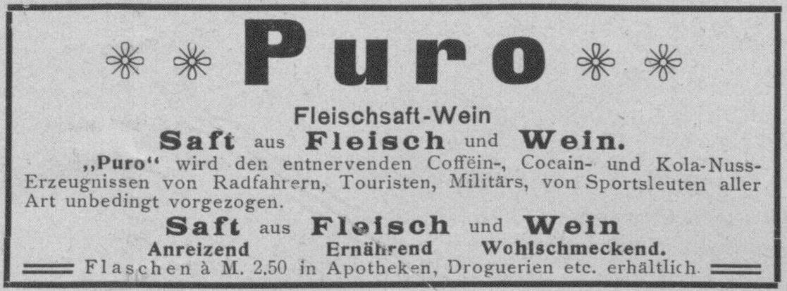 10_Sport im Bild_03_1897_p656_Kraeftigungsmittel_Performance-Food_Wein-Puro_Fleischsaft