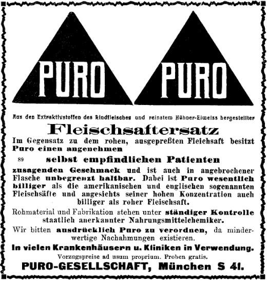 31_Wiener Medizinische Wochenschrift_62_1913_sp542_Fleischpraeparate_Kraeftigungsmittel_Puro