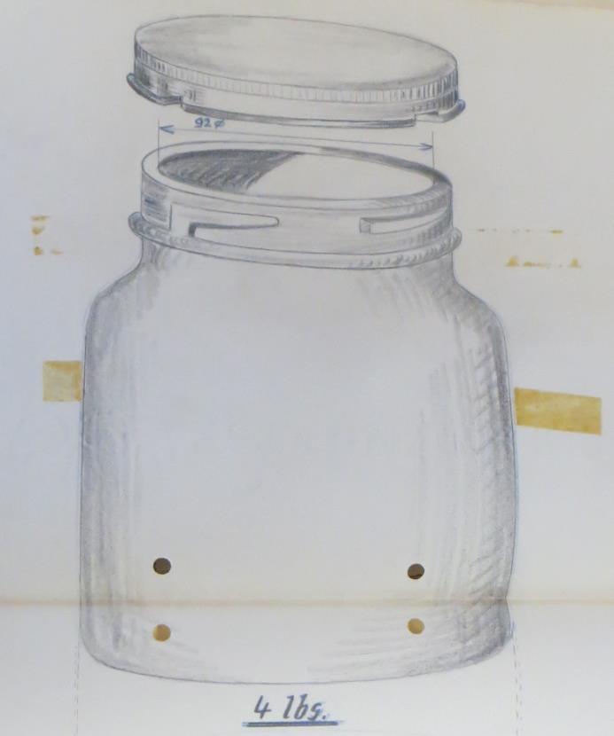 08_Samtgemeindearchiv Boffzen_Sammlung Heide_Verpackungen_Formgestaltung_Design_Glasverpackung