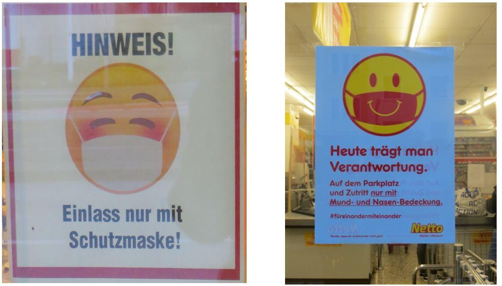 03_Uwe Spiekermann_Corona_Hygieneregeln_Masken_Smiley_Infantilisierung