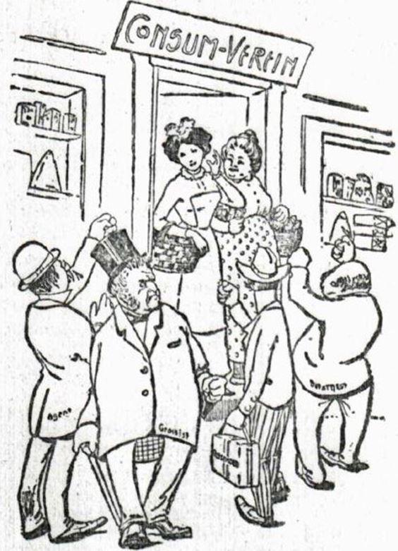 06_Frauen-Genossenschaftsblatt_01_1902_p106_Konsumentin_Haendler_Konsumgenossenschaften