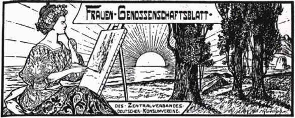 17_Frauen-Genossenschaftsblatt_04_1905_p041_Frauenbild_Malerin_Stafellei