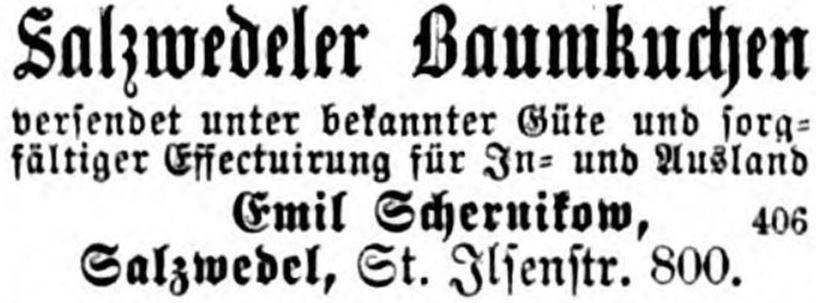 21_Illustrirte Zeitung_48_1877_p213_Versandgeschäft_Baumkuchen_Emil-Schernikow_Salzwedel