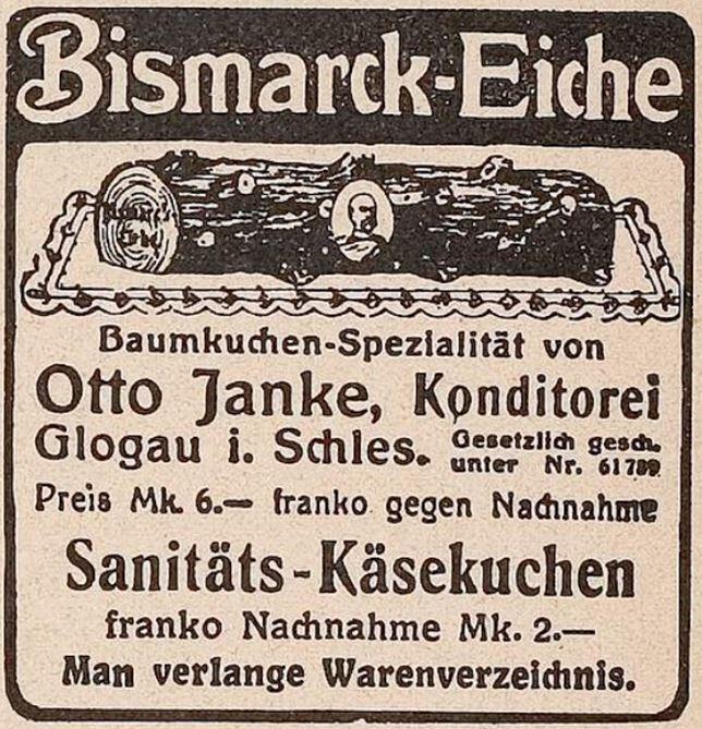 27_Jugend_15_1910_T2_p1022_Versandgeschäft_Baumkuchen_Bismarck-Eiche_Otto-Janke_Glogau