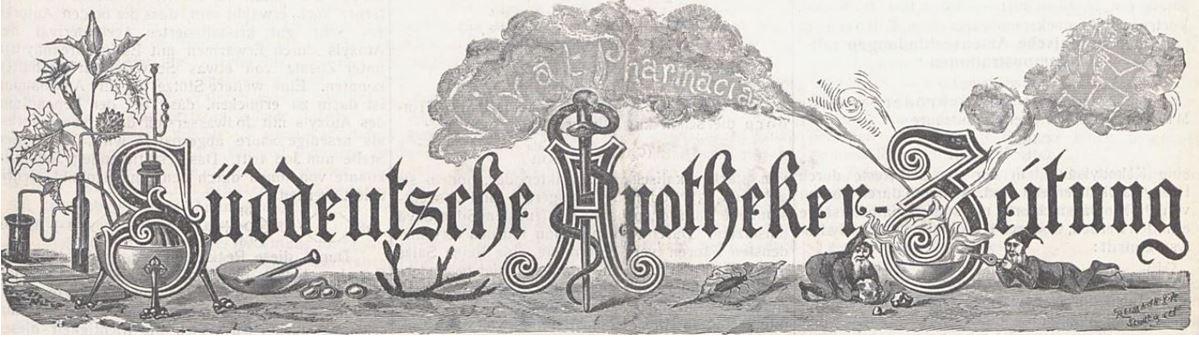 07_Sueddeutsche Apotheker-Zeitung_50_1910_p423_Pharmazie_Skelett_Titelvignette