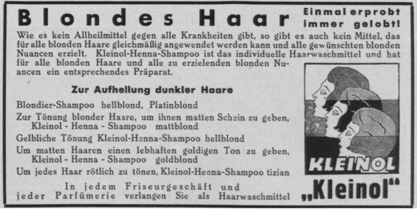 07_Sport im Bild_39_1933_p877_Haarpflege_Haarshampoo_Haarfaerbemittel_Kleinol