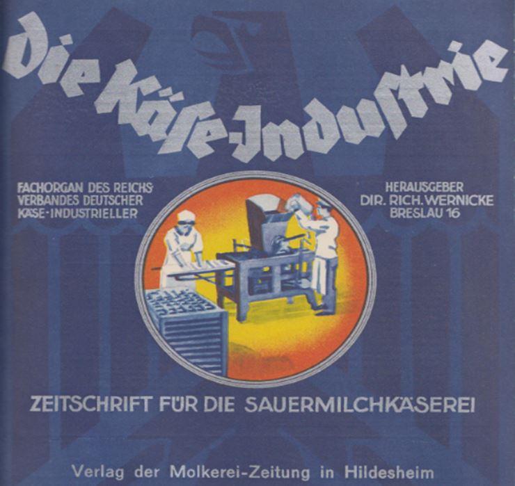 09_Die Kaese-Industrie_01_1927-28_Nr07_pI_Zeitschrift_Fachzeitschrift_Kaeseproduktion_Hildesheim_Sauerkaede