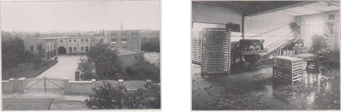 13_Die Kaese-Industrie_01_1927-28_p006_ebd_p007_Kaeseproduktion_Sauerkaese_Sangershausen_Produktionsstaetten