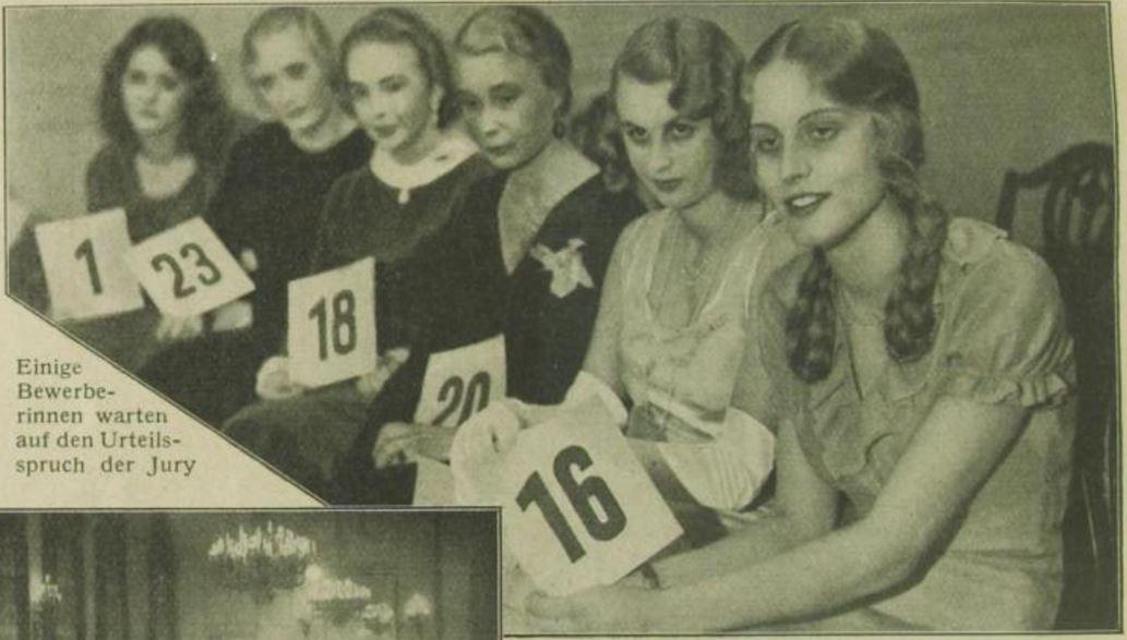 25_Das Magazin_08_1931-32_Nr93_pXII_Nurblond_Schoenheitswettbewerb_Blondinen_Ruth-Eweler