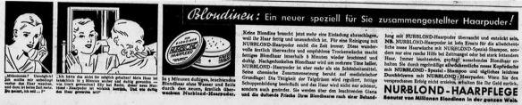 26_Dresdner Neueste Nachrichten_1936_07_04_Nr154_p12_Haarpflege_Haarpuder_Nurblond