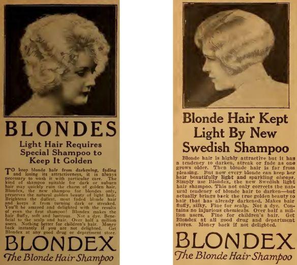 34_Motion Picture Magazine_30_1926_Nr07_p107_Ebd_Nr12_p108_Haarpflege_Haarshampoo_Blondex
