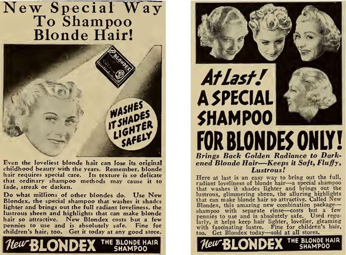 36_Motion Picture_57_1939_Nr04_p78_Ebd_Nr03_p68_Haarpflege_Haarshampoo_New-Blondex_Blondinen