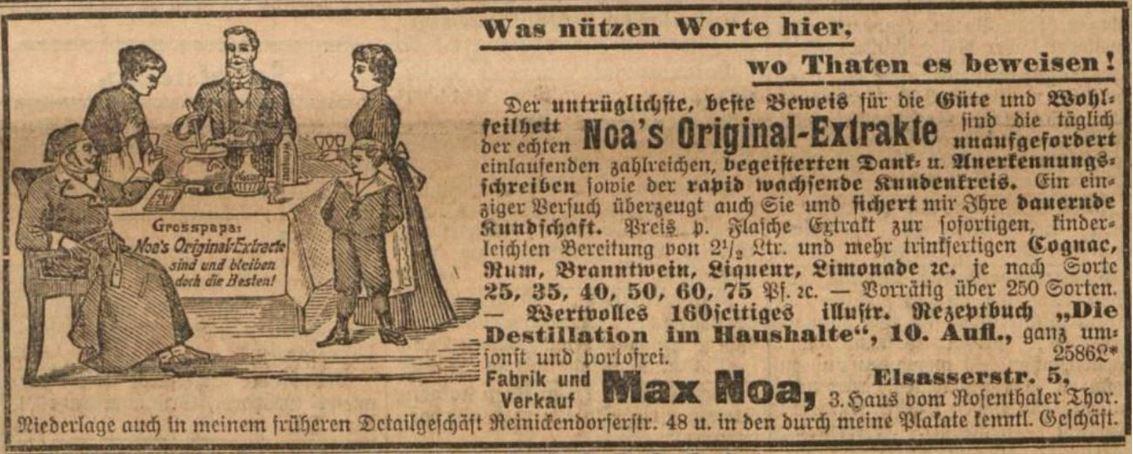 17_Vorwaerts_1903_09_13_Nr214_p17_Max-Noa_Essenzen_Spirituosen_Selbstbereitung_DIY_Berlin_Werbebroschuere