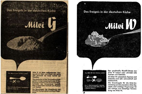 10_Straßburger Neueste Nachrichten_1940_10_13_Nr086_sp_Neues Wiener Tagblatt_1941_03_28_Nr13_p12_Milei_Austauschstoff_Eier