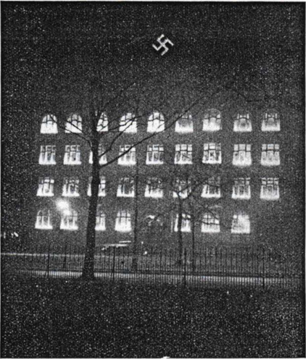 06_Rundchau des Reichsbundes deutscher Verbrauchergenossenschaften_31_1934_p125_Konsumgenossenschaften_Hamburg_Hakenkreuz