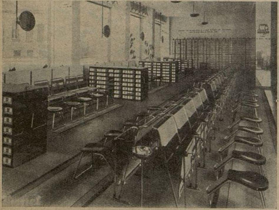 11_Illustrierte Technik_10_1932_H01_pXXVIII_Spezialgeschaeft_Schuhe_Direkt_Verkaufsstaetten_Berlin_Amerikanisierung_Rohrstahl