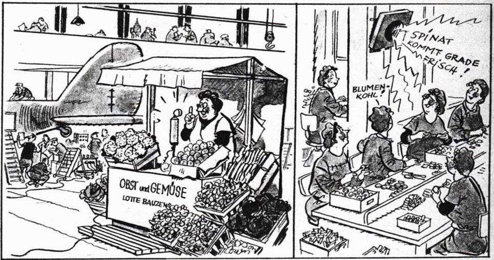 21_Arbeitertum_12_1943_Folge09_p12_WKII_Werksverpflegung_Einzelhandel_Ruestungsindustrie