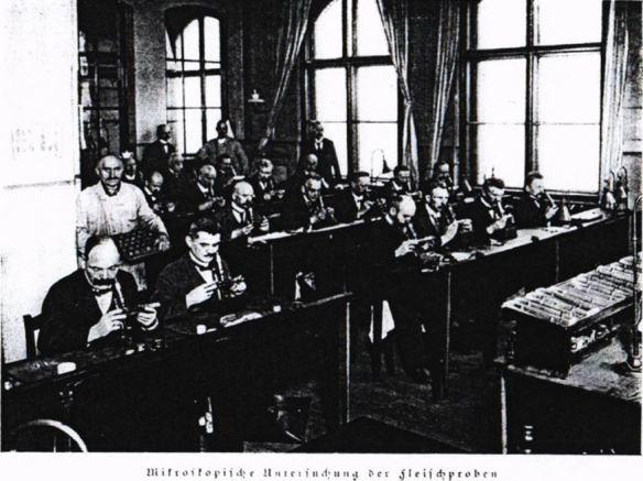 07_Gruettner_1927_p365_Fleischbeschau_Trichinen_Nahrungsmittelkontrolle_Mikroskop_Berlin