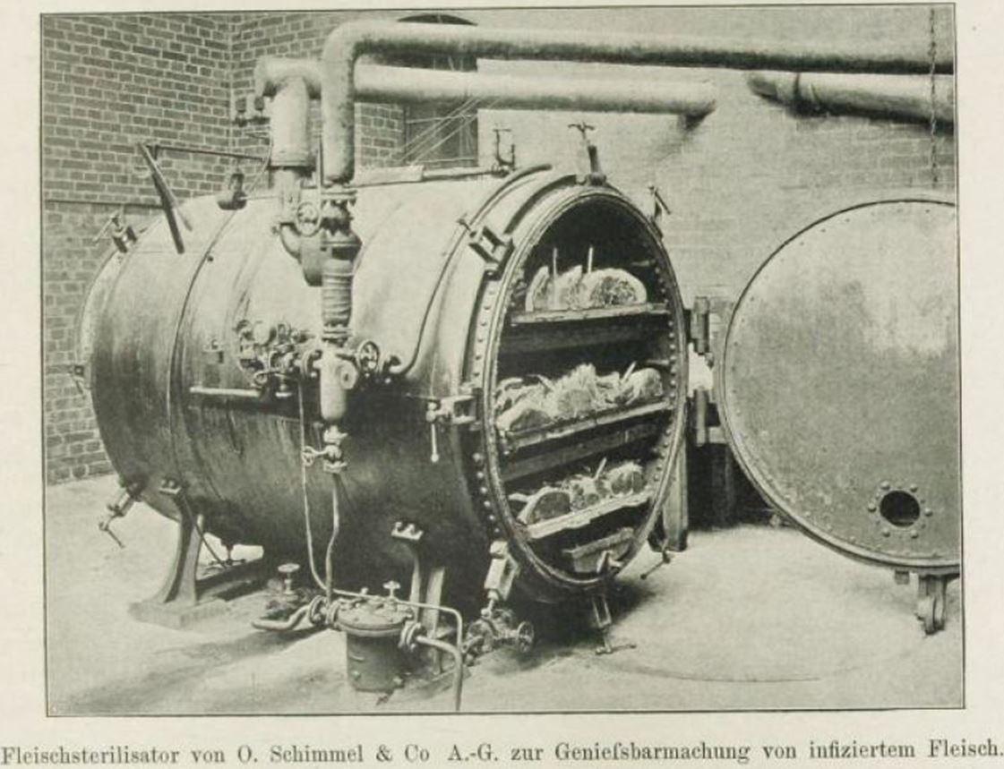 12_Koegler-Tempel_1898_p93_Freibank_Fleischsterilisator_Hygiene_Chemnitz_Schlachthof_Daseinsfuersorge