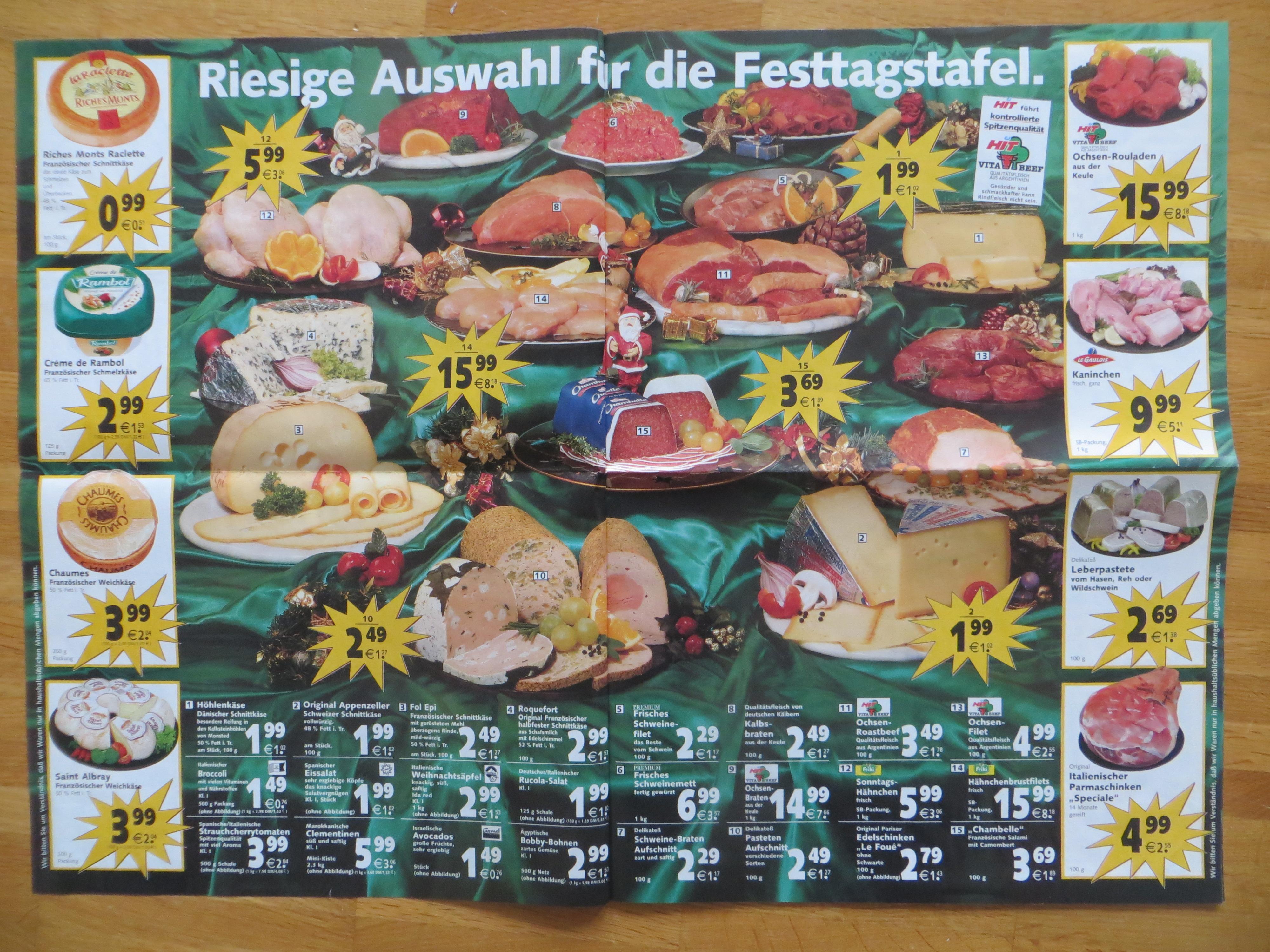 27_Hit hat's_2000_12_18_KW51_p2-3_Fleisch_Werbung_Supermarkt_Frischfleisch