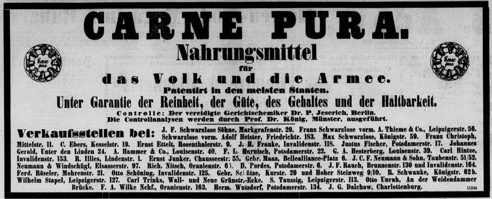 08_Norddeutsche Allgemeine Zeitung_1882_11_05_Nr519_p08_Carne-pura_Joseph-Koenig_Paul-Jeserich