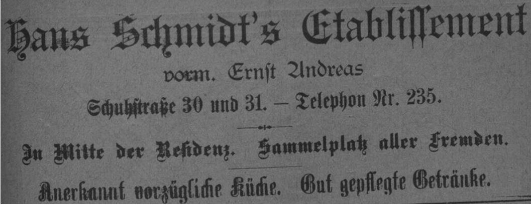 08_Adreß-Buch BS_1899_Werbung_p60_Schmidts-Etablissement_Gaststaette_Braunschweig