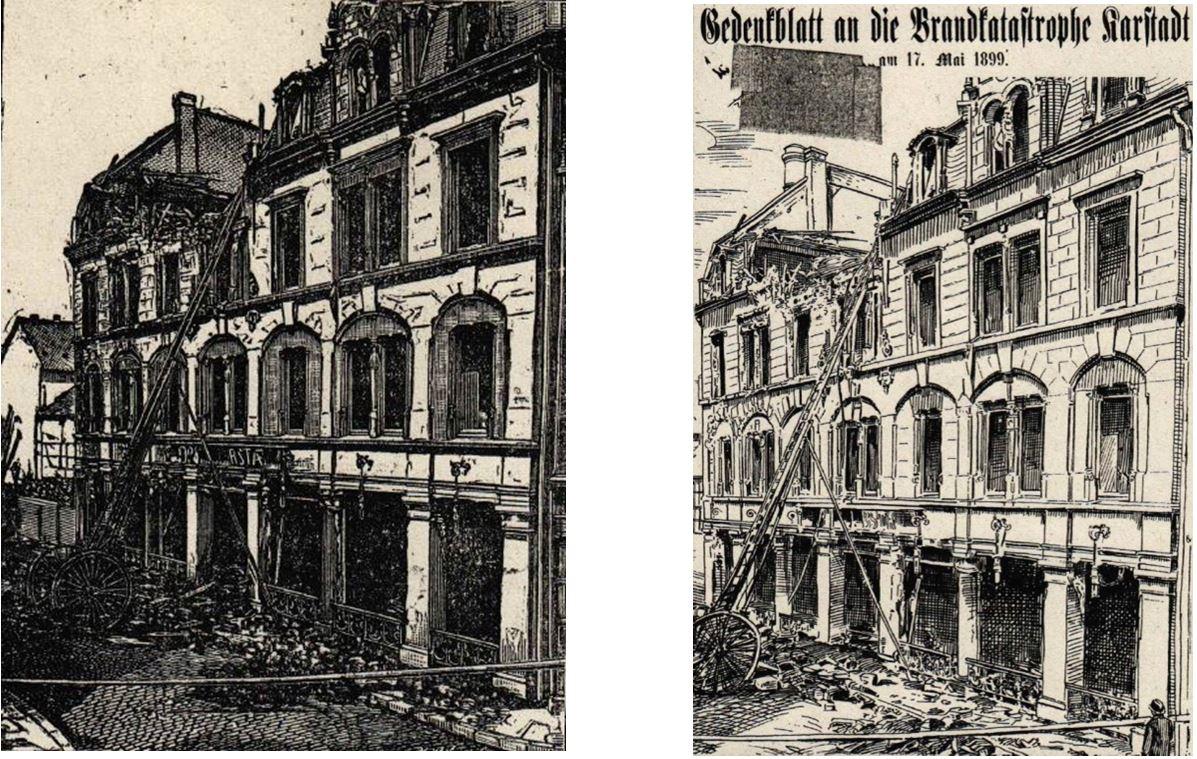 11_Neueste Nachrichten_1899_05_20_Nr117_sp_Gedenkblatt_1899_p01_Warenhausbrand_Karstadt_Braunschweig