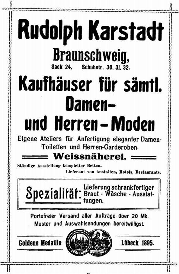 24_Verzeichnis_1906_Anzeigenanhang_p19_Warenhaus_Kaufhaus_Karstadt_Braunschweig